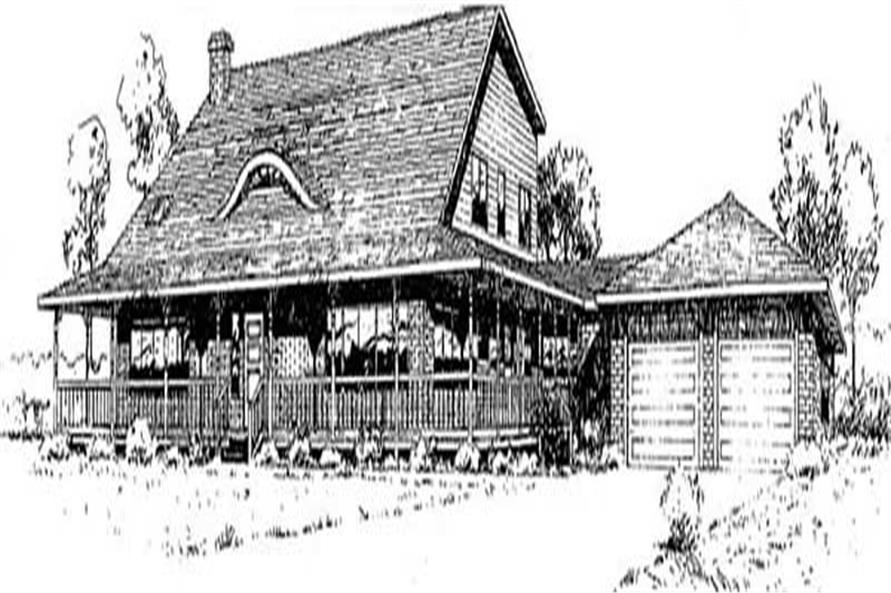 Main image for house plan # 9041