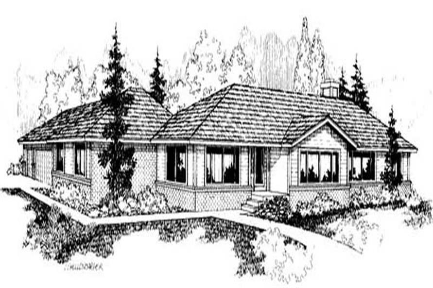 Main image for house plan # 9142