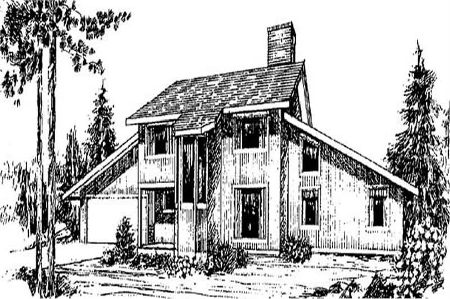 Main image for house plan # 9020
