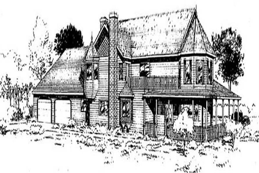 Main image for house plan # 9038
