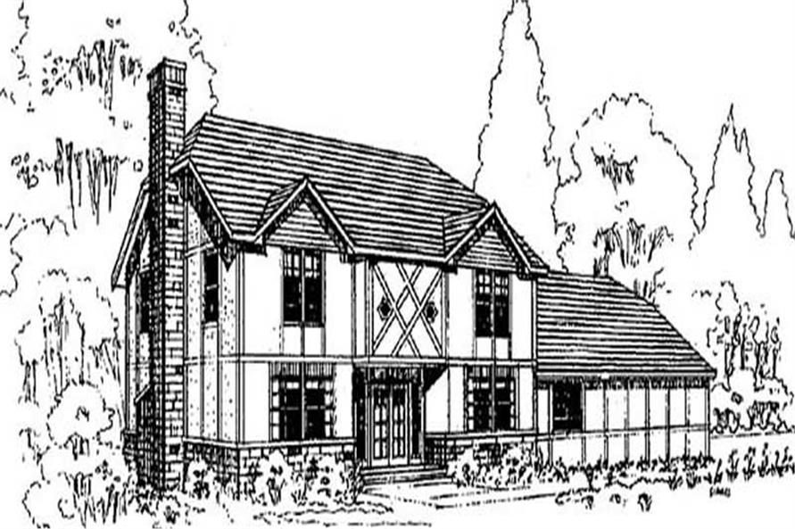 Main image for house plan # 9030