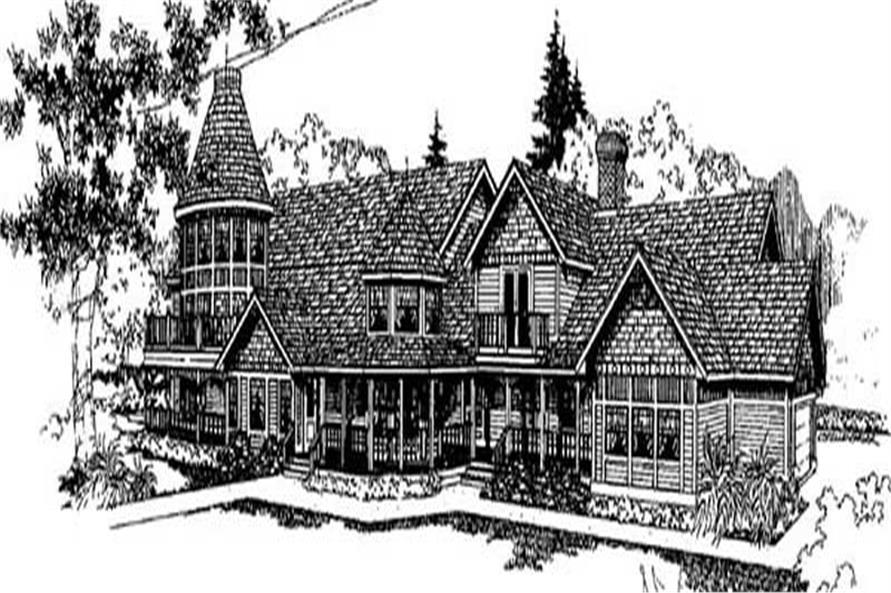 Main image for house plan # 9012