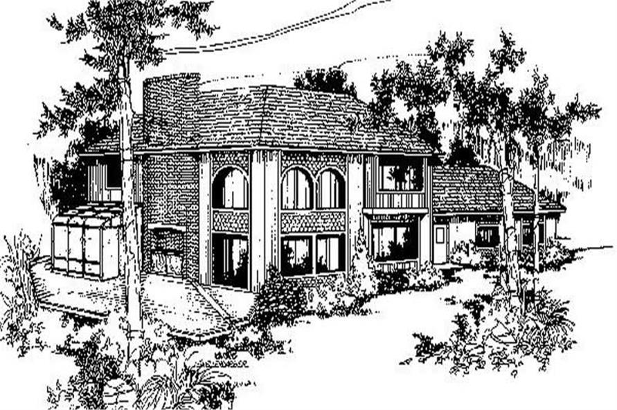 Main image for house plan # 9011