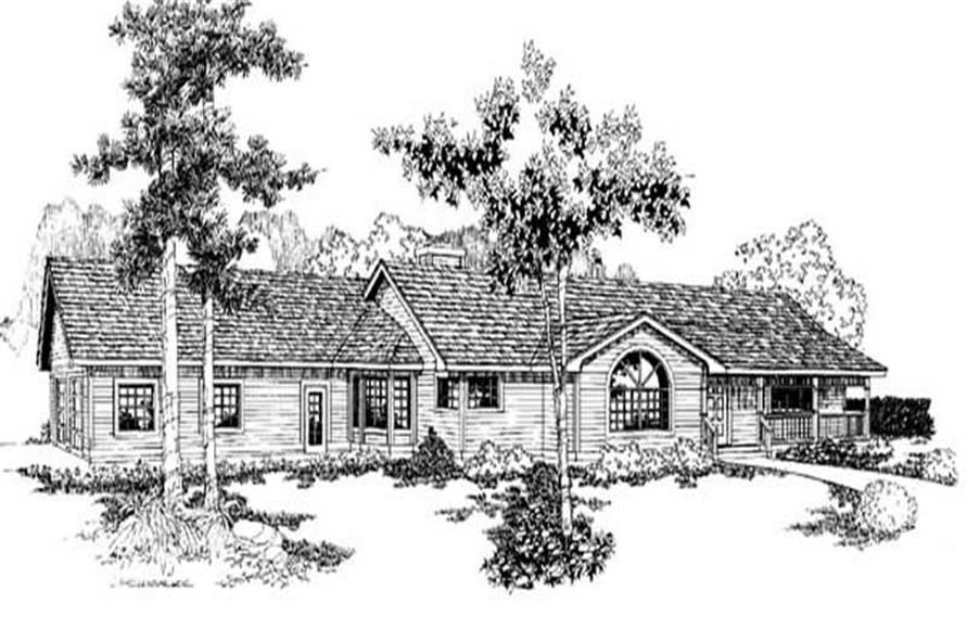 Main image for house plan # 9121