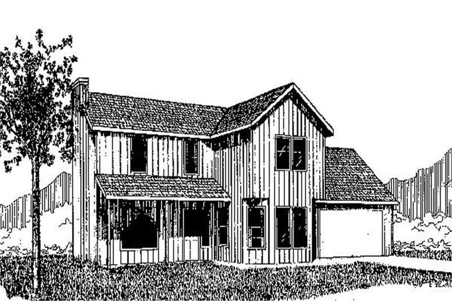 Main image for house plan # 8955