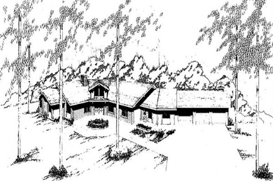 Main image for house plan # 9128