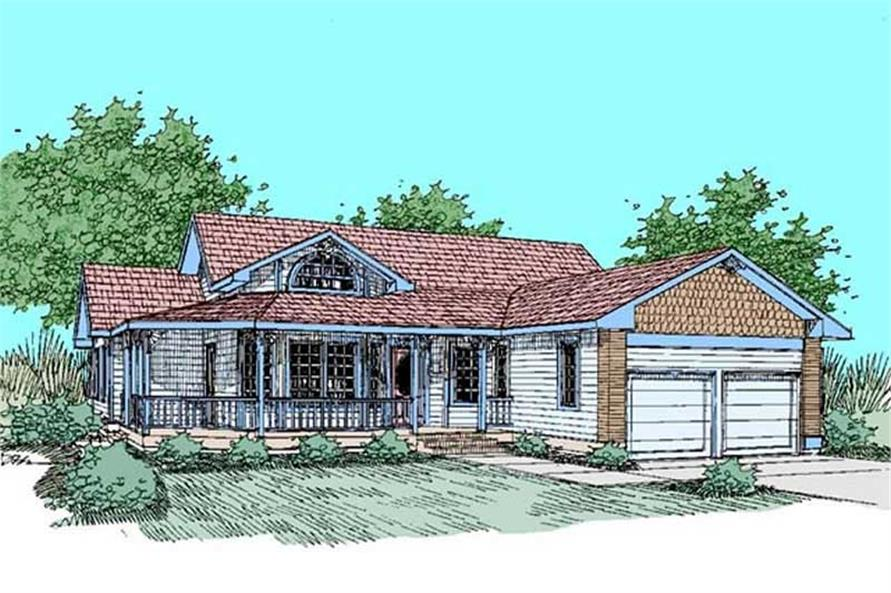 Main image for house plan # 9126