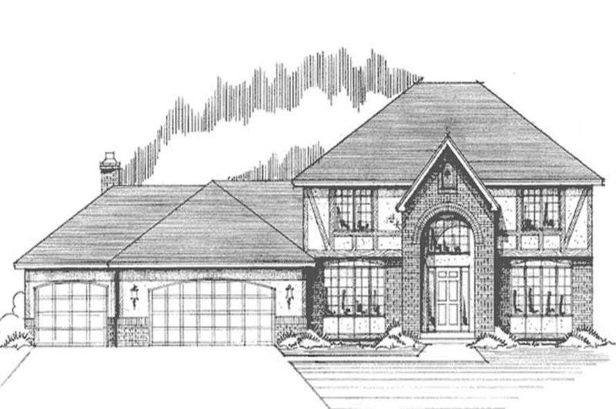 Main image for house plan # 21172