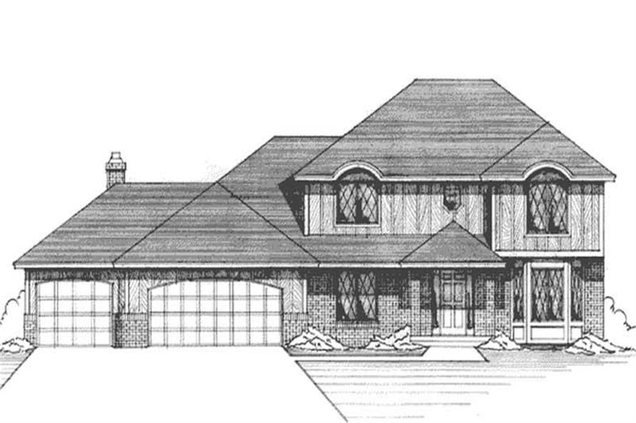 Main image for house plan # 21168