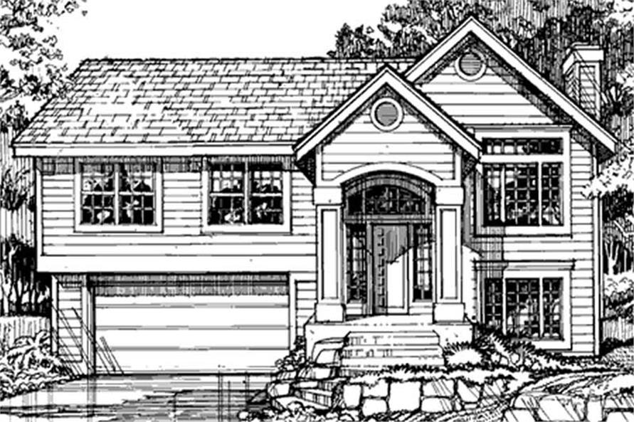 Country Home Plans LS-B-90067 Front Elevation.