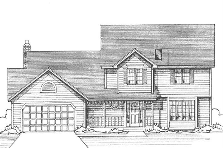 Main image for house plan # 21185
