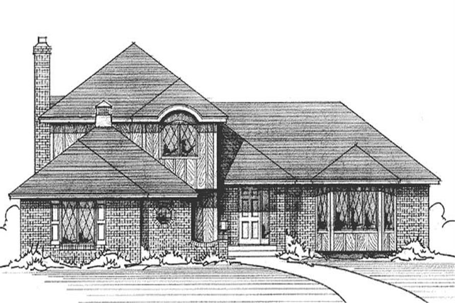 Main image for house plan # 21187