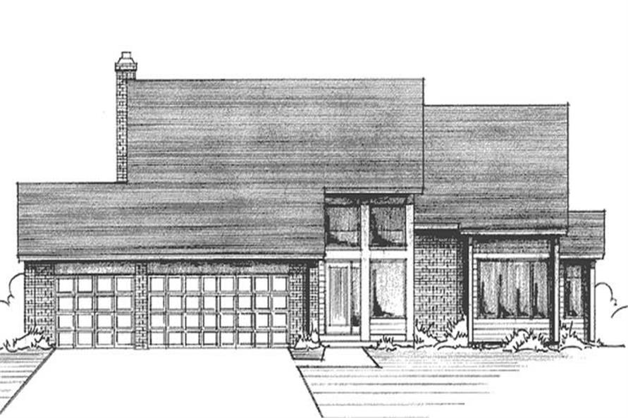 Main image for house plan # 21189