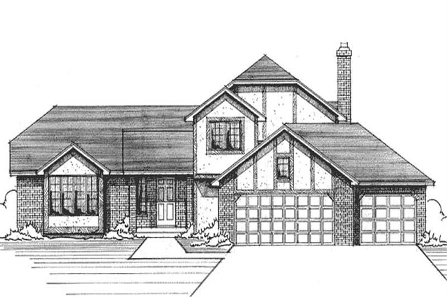 Main image for house plan # 21190