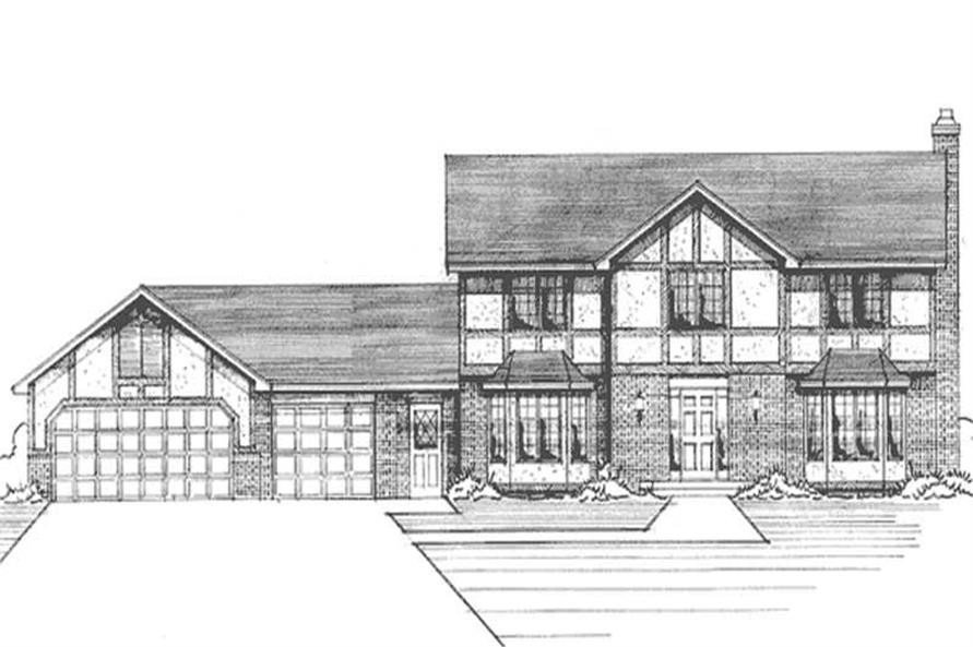 Main image for house plan # 21191