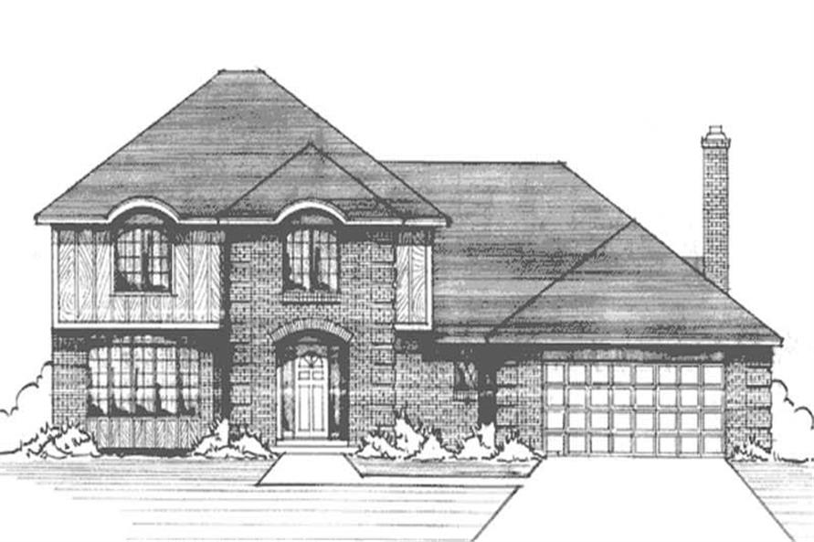 Main image for house plan # 21192