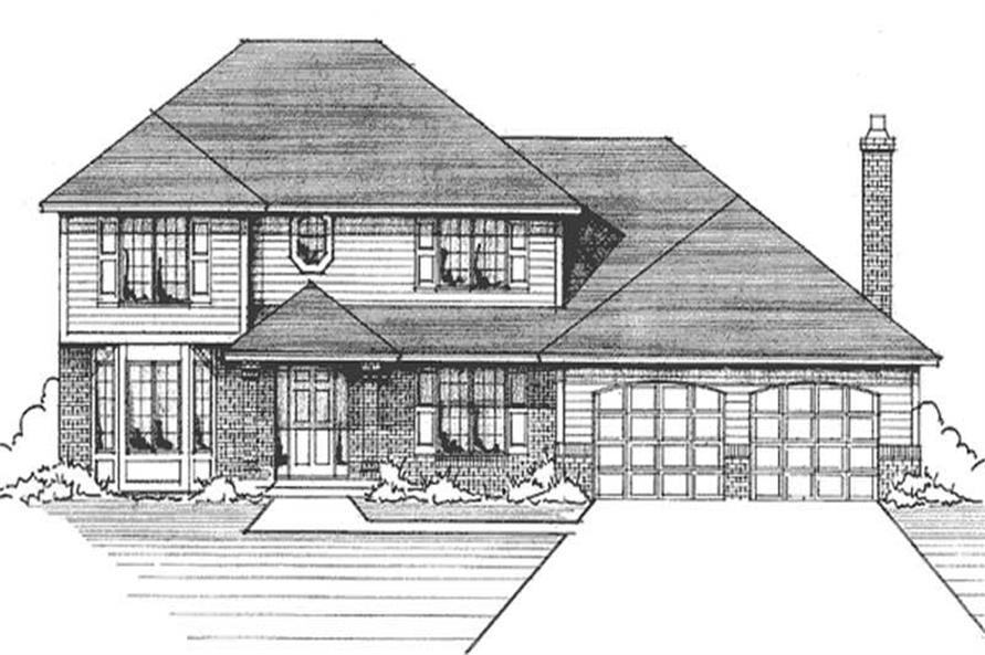 Main image for house plan # 21194
