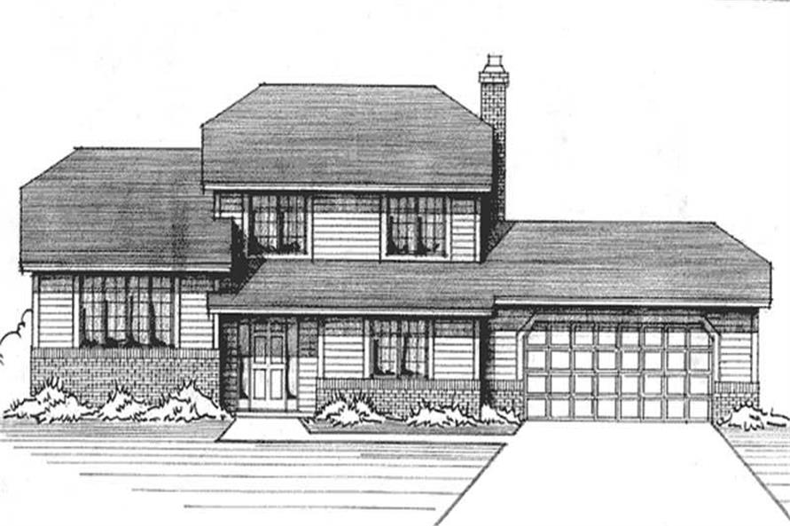 Main image for house plan # 21196