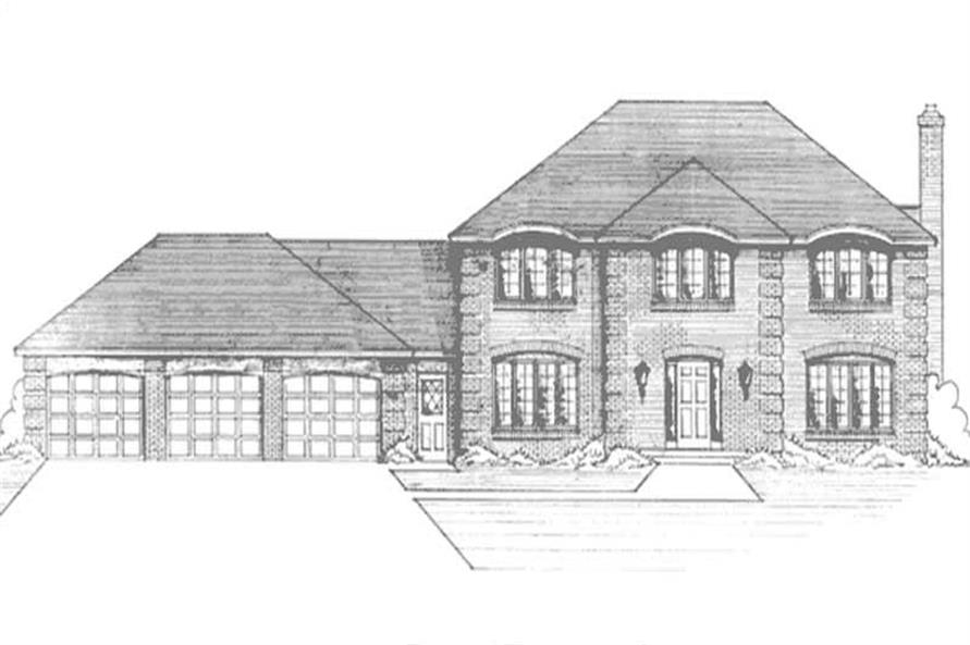 Main image for house plan # 21200