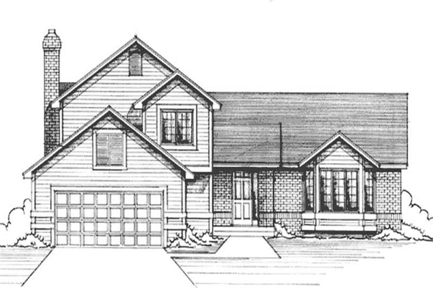 Main image for house plan # 21203