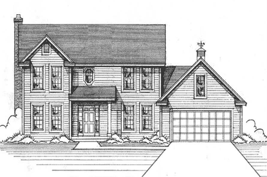 Main image for house plan # 21181