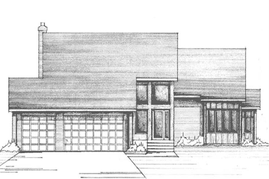 Main image for house plan # 21129