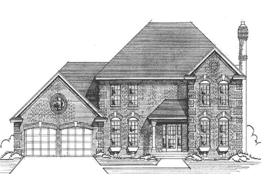Main image for house plan # 21177