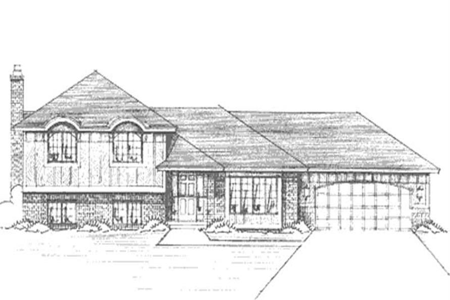 Main image for house plan # 21173
