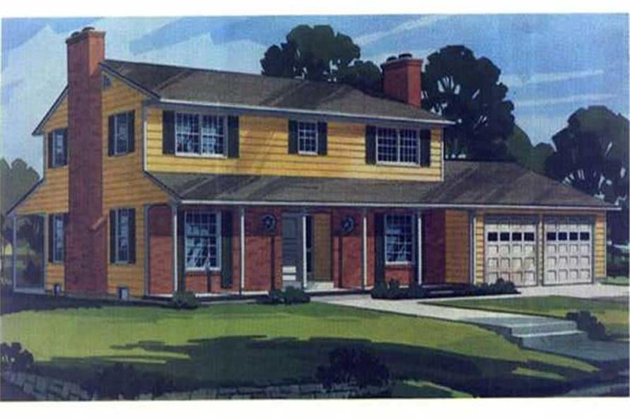 Color Rendering of house plan LS-H-3678-3