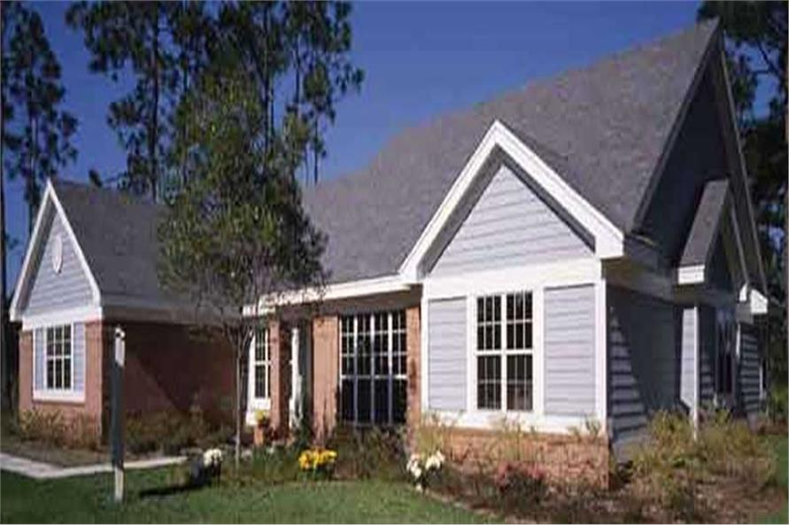 This image shows the Specialty/Ranch Style of this set of house plans.