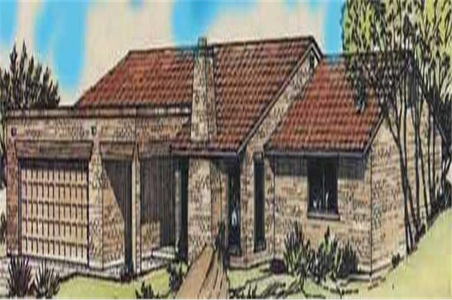 Color Rendering of these house plans