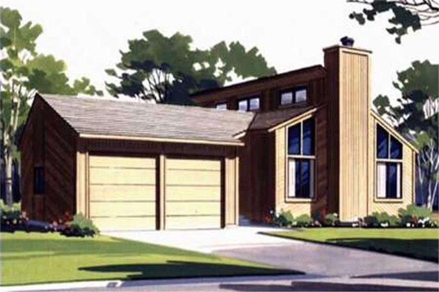 Color Rendering to this houseplan