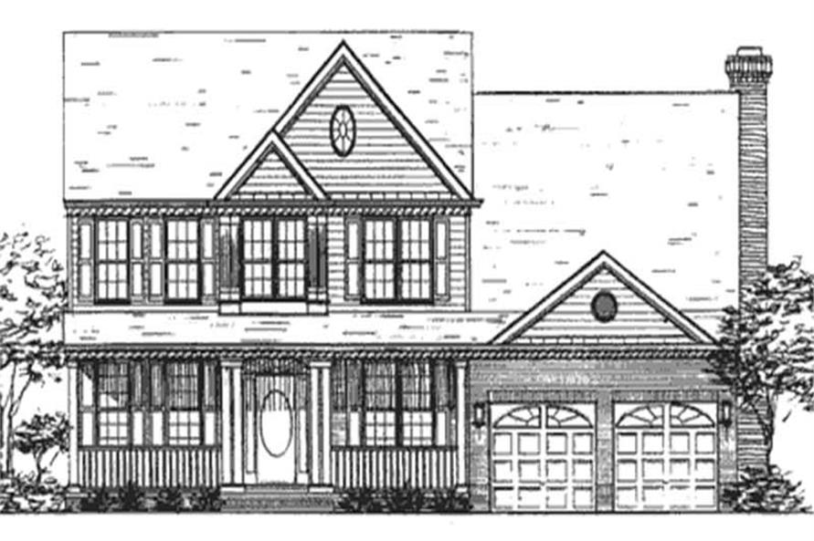 Main image for house plan # 21024