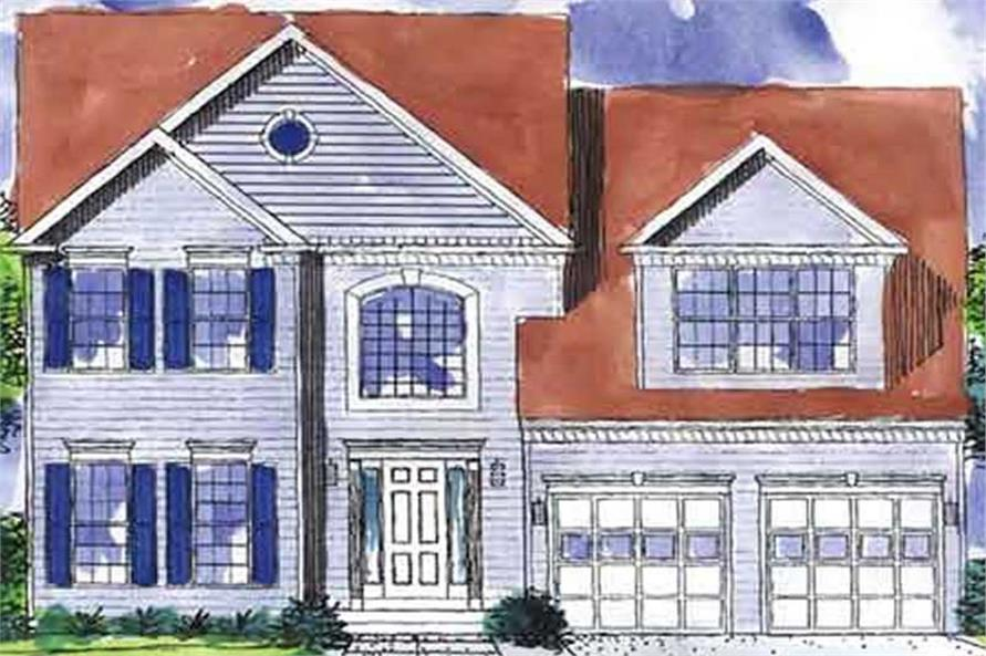 Main image for house plan # 21028