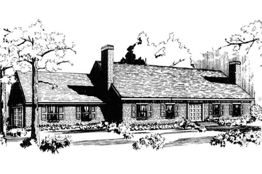 Front View to this elevation