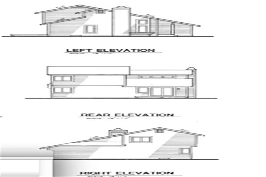 146-1779 house plan alternate elevations