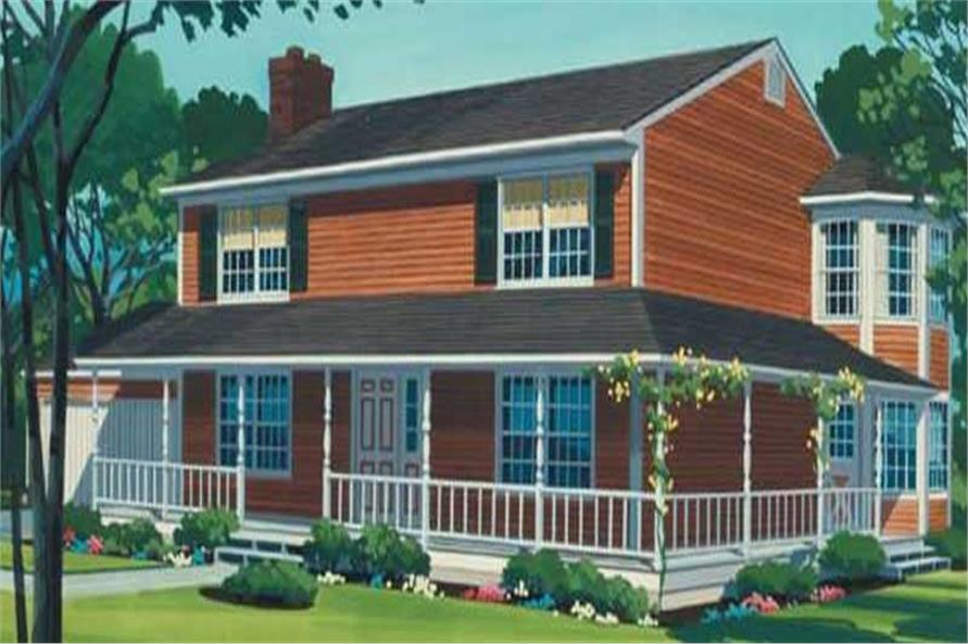 Color Rendering to this home