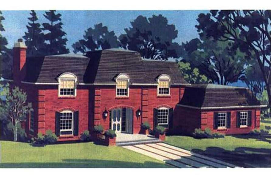 Color Rendering of House Plan LS-H-1411-1