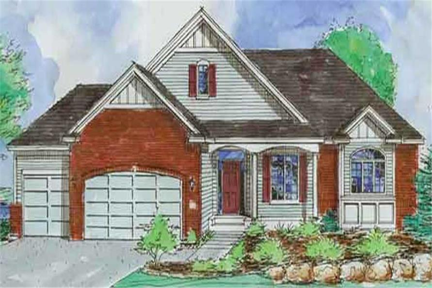 Main image for house plan # 20588