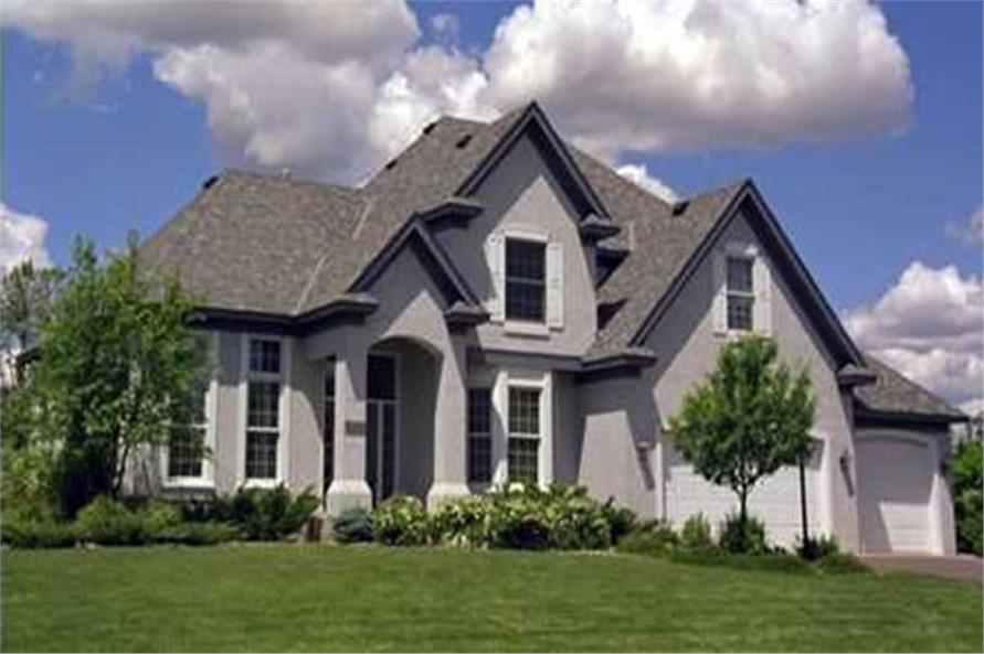 Main image for house plan # 21101