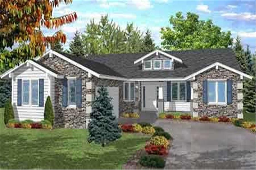 Main image for house plan # 20660