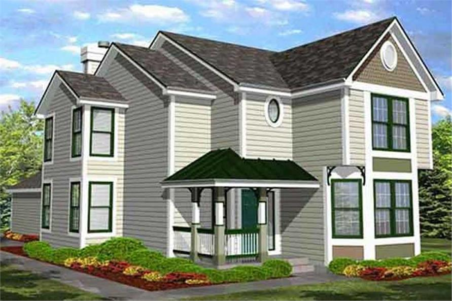 Main image for house plan # 20670