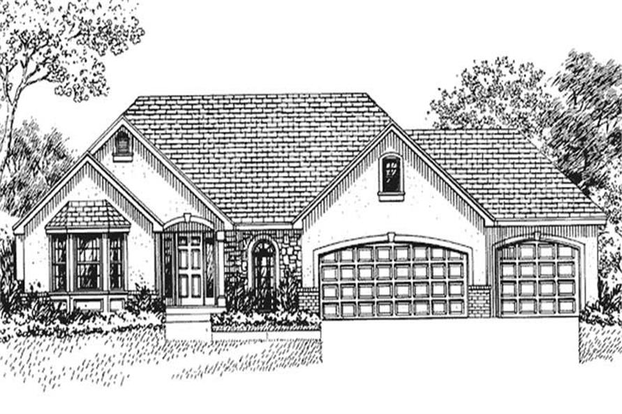 Main image for house plan # 21094
