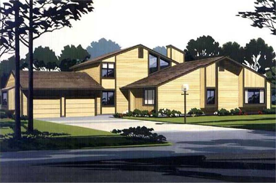 Main image for house plan # 21317