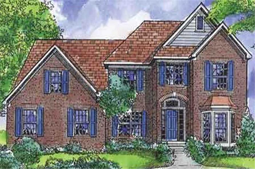 Main image for house plan # 21318
