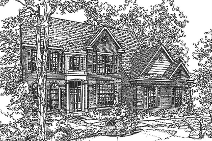 Main image for house plan # 21340