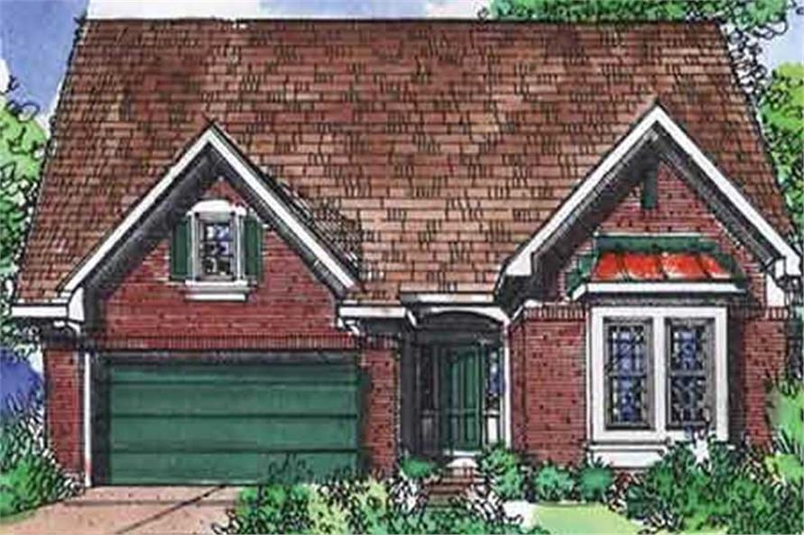 Main image for house plan # 21346
