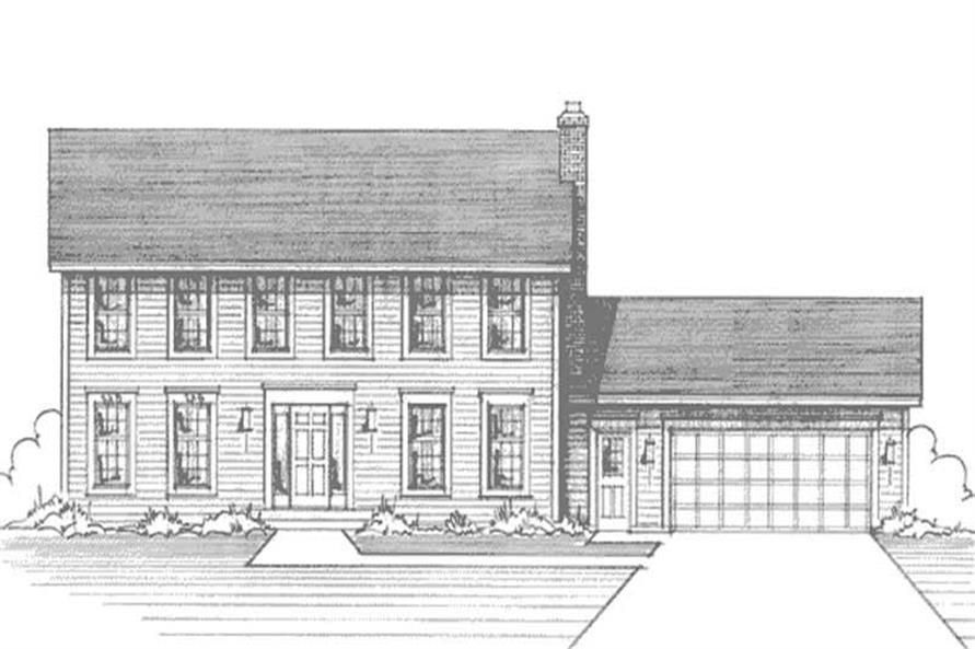 Main image for house plan # 21134