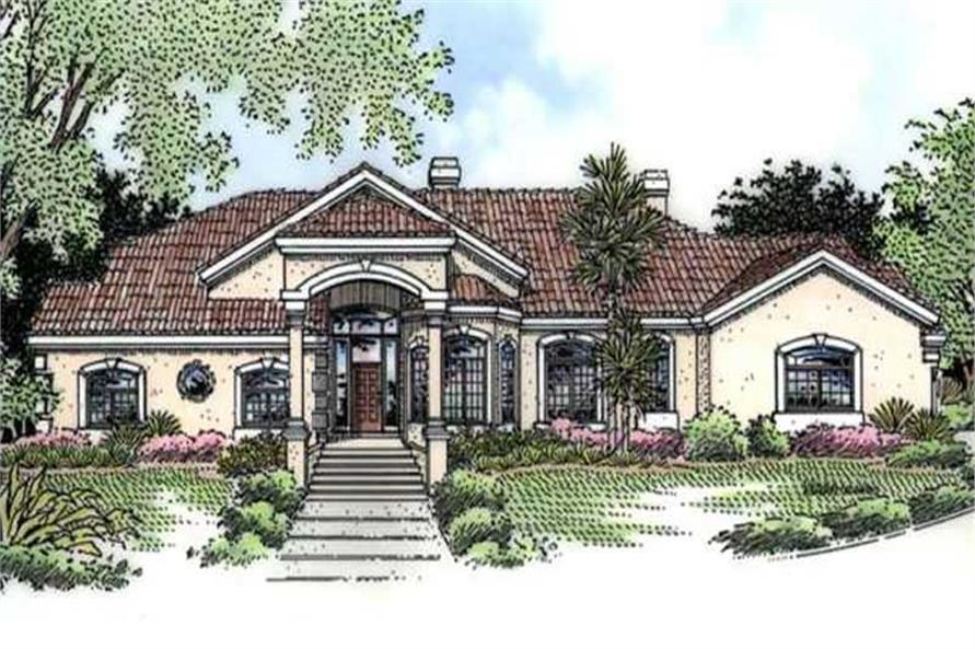 Main image for house plan # 20716