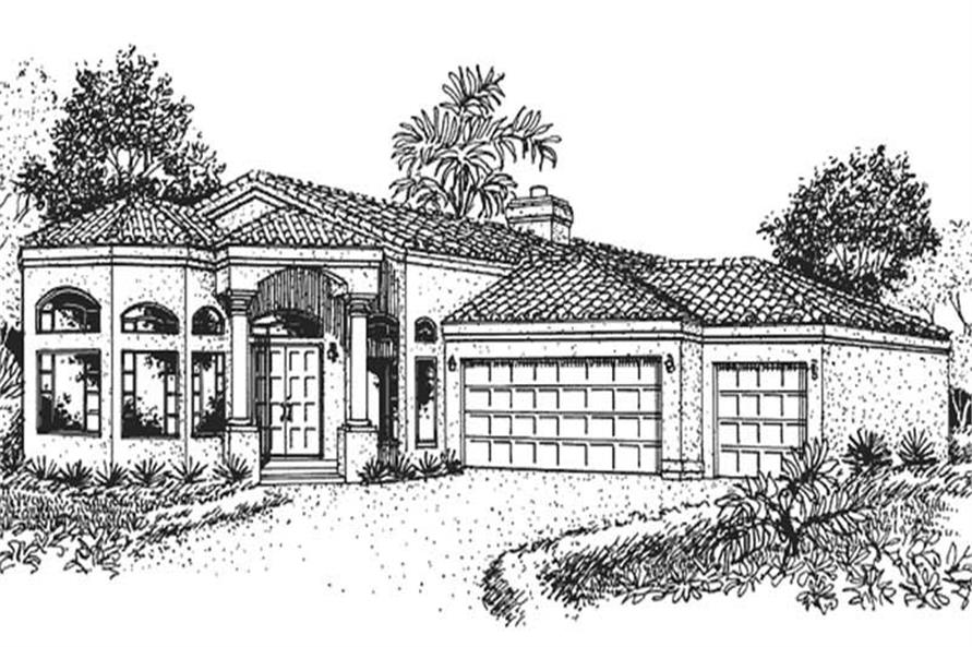 Main image for house plan # 20714